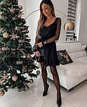 Платье женское вечернее чёрное, фото 2