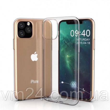 """Ультратонкий силиконовый чехол 0.75mm на iPhone 12 mini (5.4"""") прозрачный-"""