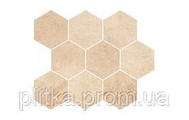 Мозаика Opoczno Sahara Desert Mosaic Hexagon 28 x 33,7 см
