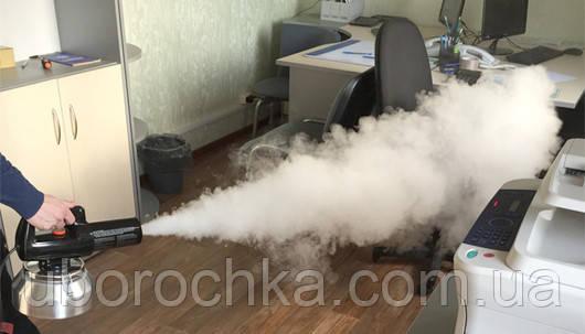 Сухой туман Харьков. Уничтожение запахов, дезинфекция. Ароматизация помещений.