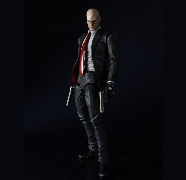 Фигурка Hitman Codename 47 , статуэктка Хитман, игрушка Hitman , 23 см, в коробке