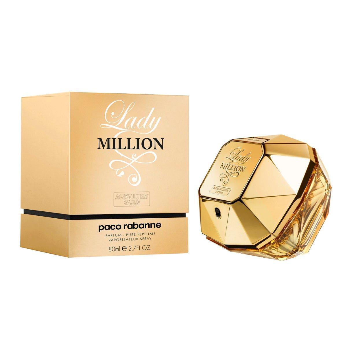 Оригинал женская парфюмированная вода Paco Rabanne Lady Million