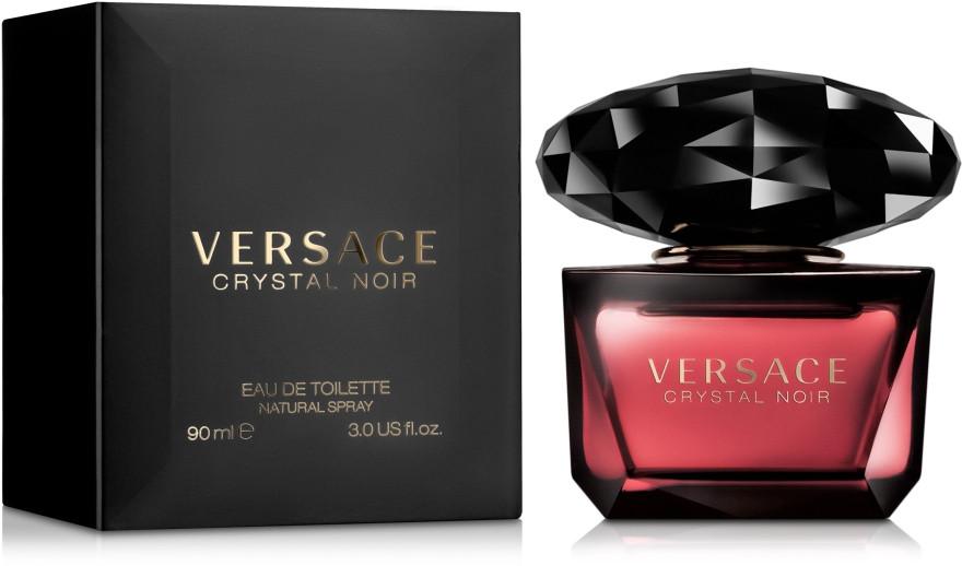 Оригинал женская туалетная вода Versace Crystal Noir