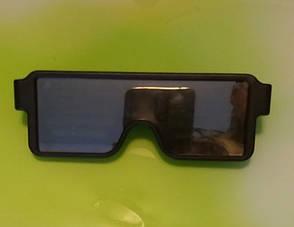 Светодиодные очки. LED очки. Очки для вечеринки, фото 3