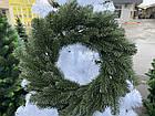 Литой Венок рождественский 40 см декоративный, фото 2