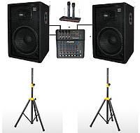 Комплект Sound Division DJ15SA2-KAR-Al звукового оборудования для караоке, мощность 700Вт