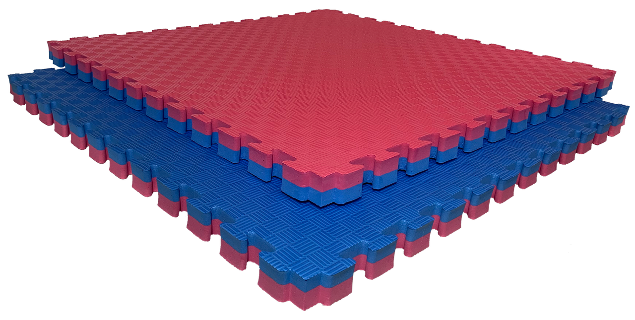 "Коврик-пазл ЭВА (EVA), татами ""ласточкин хвост""  100х 100 х3см  80 плотность."