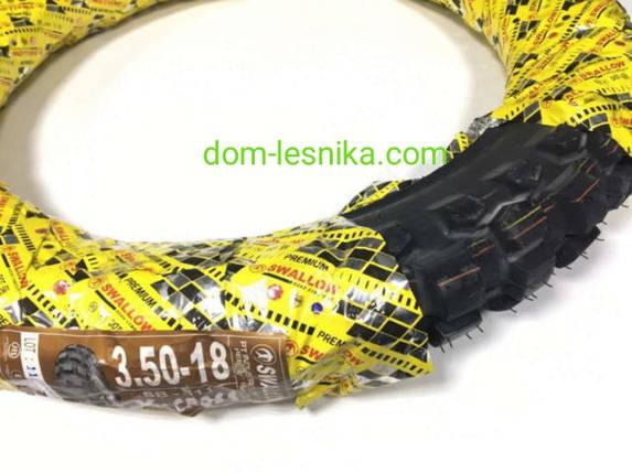 Резина 3.50х18 кроссовая, Swallow., фото 2