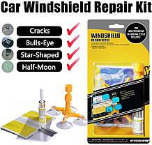 Набор ремонта стекла автомобиля WINDSHIELD REPAIR KIT. Оригинал!