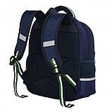 Школьный ортопедический рюкзак с пеналом | детский портфель ранец для девочки первоклассницы 1 - 2 - 3 класс, фото 3