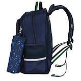 Школьный ортопедический рюкзак с пеналом | детский портфель ранец для девочки первоклассницы 1 - 2 - 3 класс, фото 6