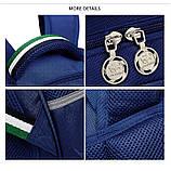 Школьный ортопедический рюкзак с пеналом | детский портфель ранец для девочки первоклассницы 1 - 2 - 3 класс, фото 8