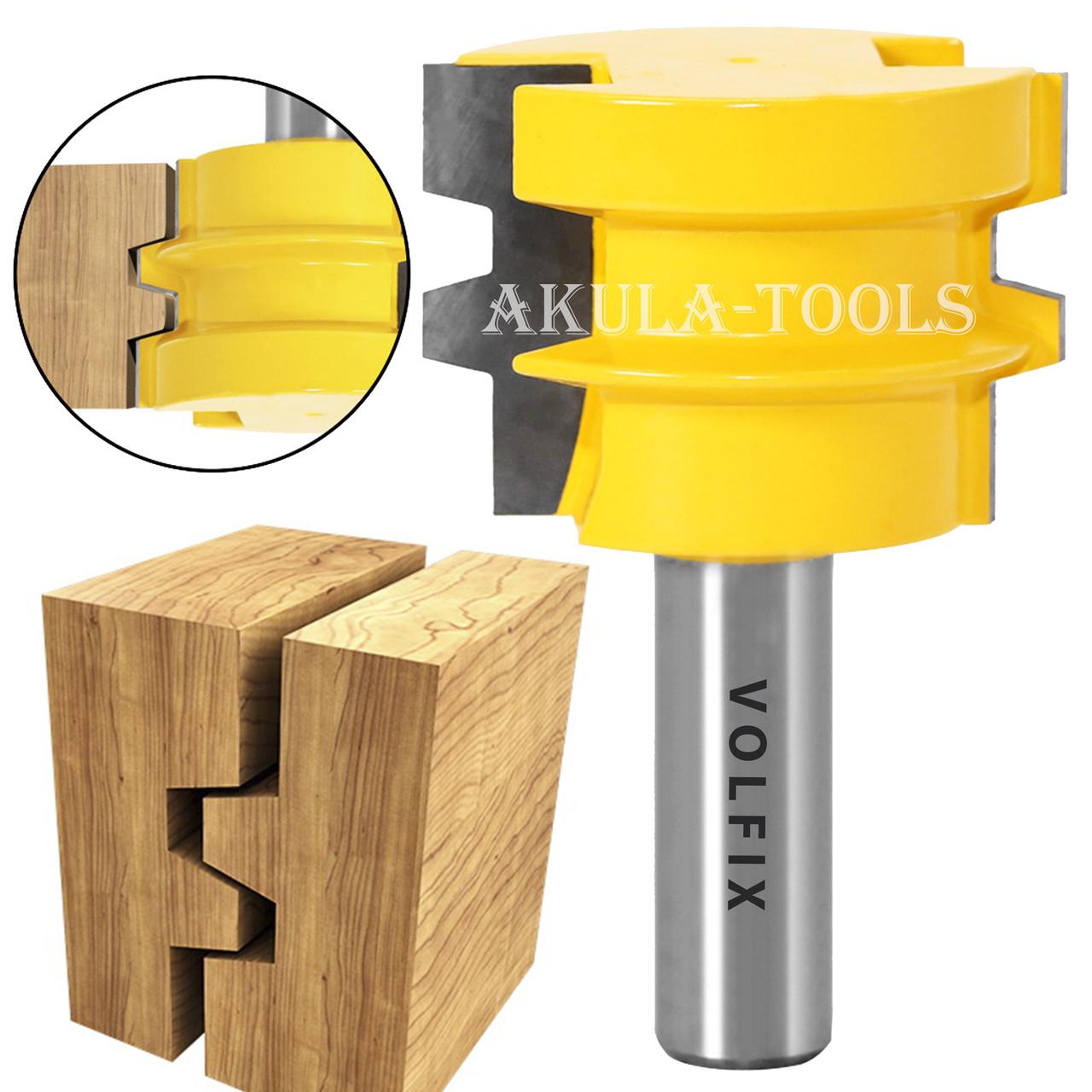 Фреза для сращивания древесины универсальная по ширине и длине по дереву VOLFIX