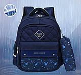 Школьный ортопедический рюкзак с пеналом | детский портфель ранец для девочки первоклассницы 1 - 2 - 3 класс, фото 10