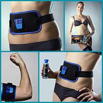Массажер миостимулятор пояс для похудения AbGymnic, фото 2