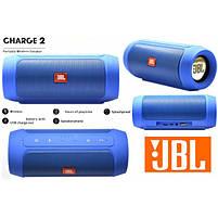 Акустическая система JBL CHARGE2+ J2 (аналог) Цвет: синий, фото 5