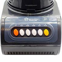 Блендер стационарный с кофемолкой DOMOTEC MS-9099 250Вт. Цвет: черный, фото 3