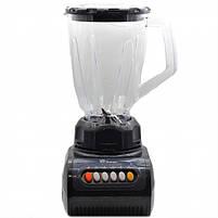 Блендер стационарный с кофемолкой DOMOTEC MS-9099 250Вт. Цвет: черный, фото 4