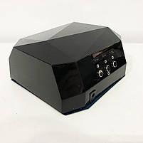 Сушилка для ногтей, лампа для гель лака UV LAMP CCF+LED. Цвет: черный, фото 2