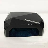 Сушилка для ногтей, лампа для гель лака UV LAMP CCF+LED. Цвет: черный, фото 5