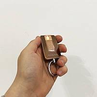 Зажигалка спиральная USB-811. Mercedes. Цвет: золотой, фото 2