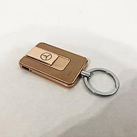 Зажигалка спиральная USB-811. Mercedes. Цвет: золотой, фото 8