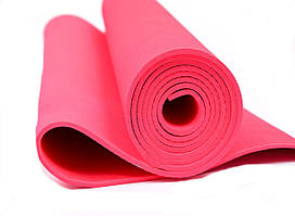 Мат для йоги EVA 173 х 61 см (0380) Красный