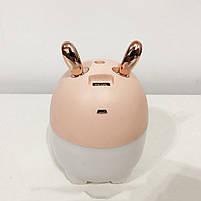 Увлажнитель воздуха Air Purifier BA-4. Цвет: розовый (зайчик), фото 4