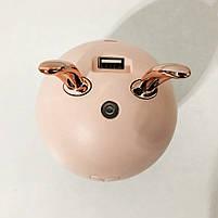 Увлажнитель воздуха Air Purifier BA-4. Цвет: розовый (зайчик), фото 5