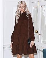 Платье женское вельветовое, фото 1