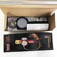 Беспроводной микрофон караоке bluetooth WSTER WS-1816 Black, фото 6
