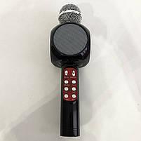 Беспроводной микрофон караоке bluetooth WSTER WS-1816 Black, фото 7