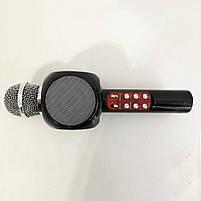 Беспроводной микрофон караоке bluetooth WSTER WS-1816 Black, фото 9