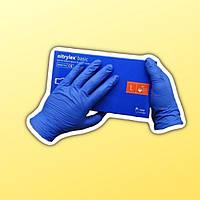 Перчатки медицинские нитриловые Нитрилекс Nitrylex Basic S