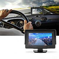 Автомобильный дисплей для двух камер LCD 4.3'' Digital Car Rear (1309)