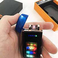 Зажигалка импульсная USB ZGP-70, фото 7