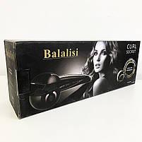Щипцы аналог BALALISI Perfect Curl 2665. Цвет: черный, фото 4