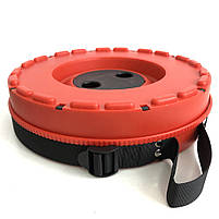 Раскладной стул, складной табурет Retractable Stool. Цвет: красный, фото 10