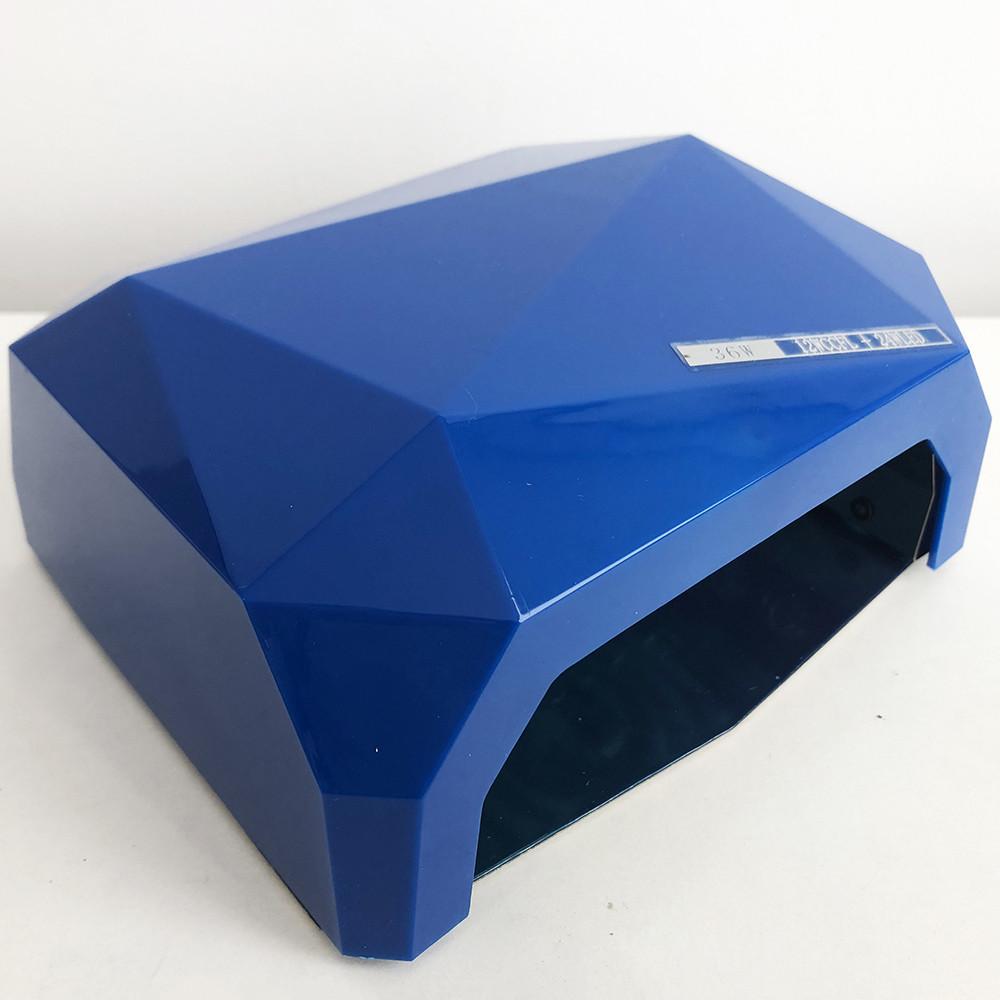 Сушилка для ногтей UV LAMP CCF+LED. Цвет: синий