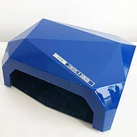 Сушилка для ногтей UV LAMP CCF+LED. Цвет: синий, фото 3