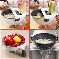 Овощерезка Wet Basket Vegetable Cutter 9в1, фото 3