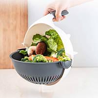 Овощерезка Wet Basket Vegetable Cutter 9в1, фото 6