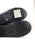 Женские зимние Ugg Bailey Bow ll Black, женские зимние сапоги угги бейли боу 2 (Чёрные), зимние угги балей боу, фото 9