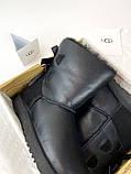 Женские зимние Ugg Bailey Bow ll Black, женские зимние сапоги угги бейли боу 2 (Чёрные), зимние угги балей боу, фото 2