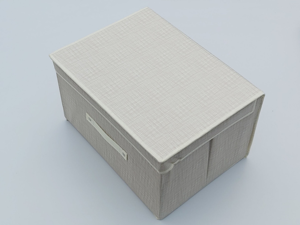 Коробка для хранения бежевого цвета