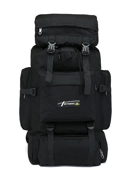 Рюкзак тактический xs1707 черный, 70 л