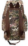 Рюкзак тактический xs1707 черный, 70 л, фото 4