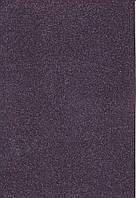 Фоамиран с блеском А4 Чёрный 2 мм. 7948