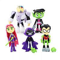 Коллекция игрушек фигурок Юные Титаны Вперед Teen Titans GO