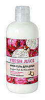 Крем-гель для душа Fresh Juice Dragon fruit & Macadamia - 500 мл.